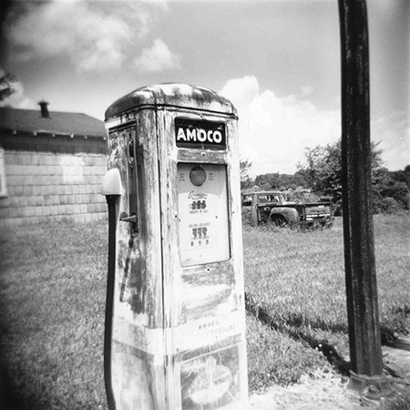 Amoco Station by Sue Jenkins